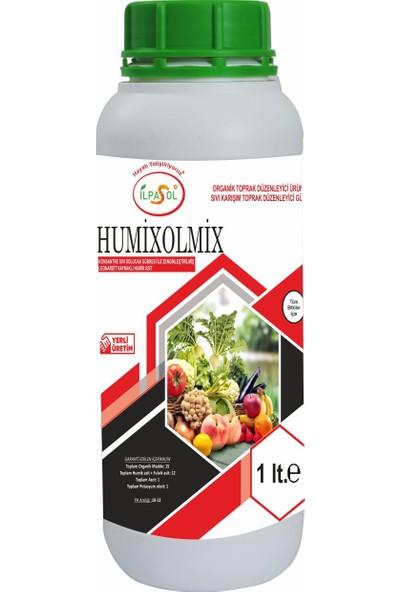 İlpasol Humixolmix Sıvı Solucan Gübresi+ Humik Fülvik Asit Özel Karışım 1 Lt