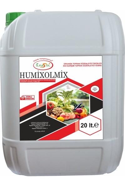 İlpasol Humixolmix Sıvı Solucan Gübresi+ Humik Fülvik Asit Özel Karışım 20 Lt