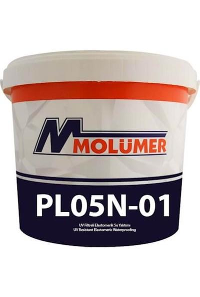 Molümer Pl05N-01 Elastometrık Su Yalıtımı Beyaz 20 Kg