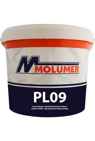 Molümer Pl09 Elastometrık Su Yalıtımı Beyaz 18 Kg