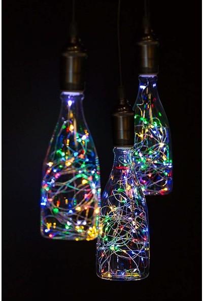 Niyet Rgb Peri Led Işık 3M - Karışık Renk - Dekoratif - Aydınlatma