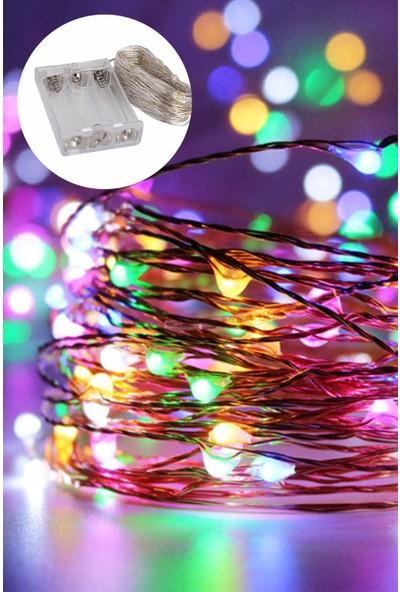 Niyet Rgb Peri Led Işık 4M - Karışık Renk - Dekoratif - Aydınlatma