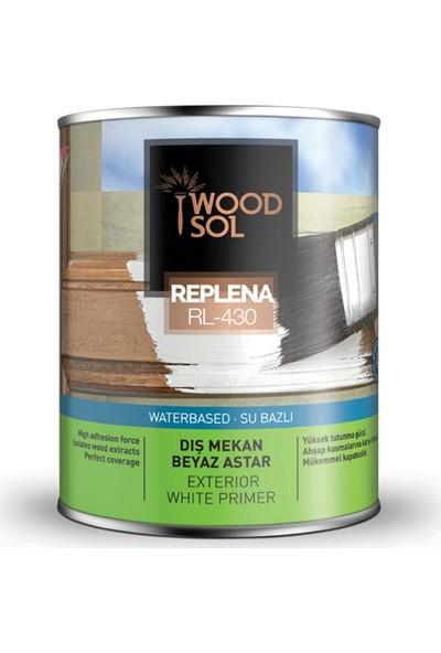 Woodsol Replena Su Bazlı Ahşap Astarı 0.75 Lt Beyaz