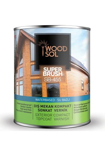 Woodsol Superbrush Sonkat Ahşap Verniği İpek Mat 0.75 Lt