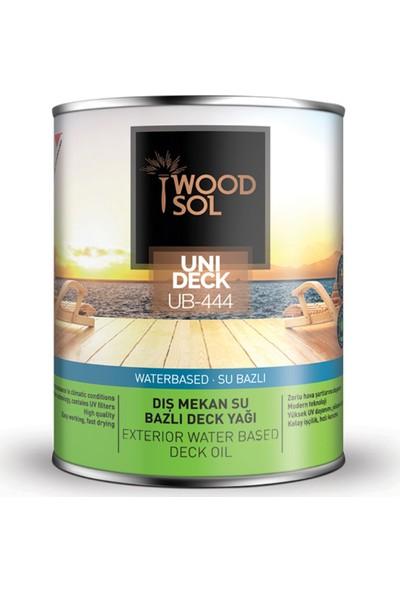 Woodsol Unideck Su Bazlı Ahşap Deck Yağı 0.75 Lt