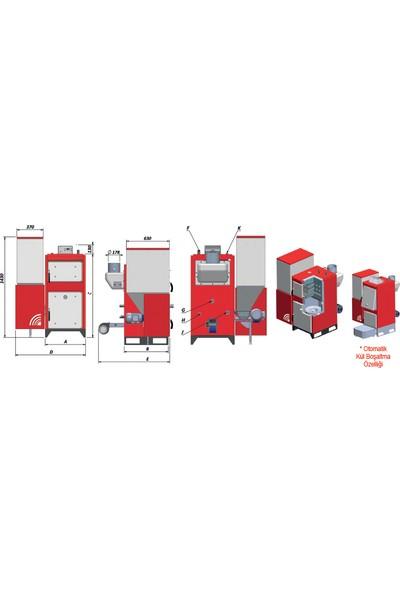 Termodinamik Eky/S Katı Yakıtlı Otomatik Kalorifer Kazanı - Eky/S 100