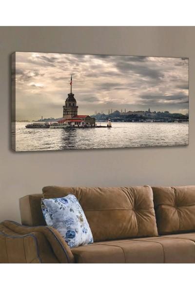 Shop365 Kız Kulesi Manzara Kanvas Tablo 120 x 60 cm