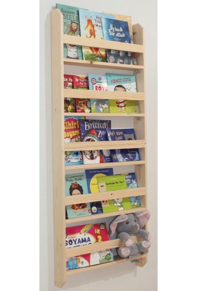Carotte Hugo 5 Raflı Bebek Çocuk Odası Ahşap Kitaplık
