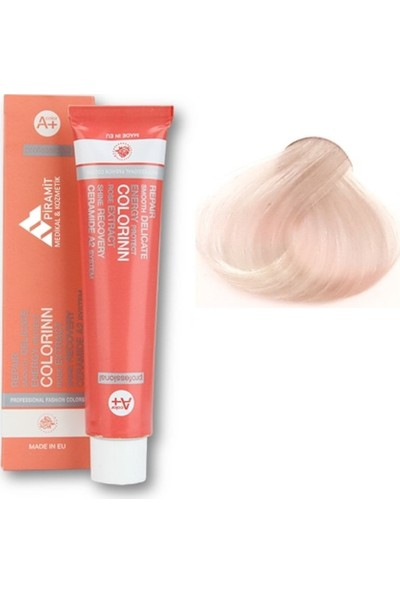 Colorinn Professional Saç Boyası 12.1 Ultra Küllü Açık Sarı
