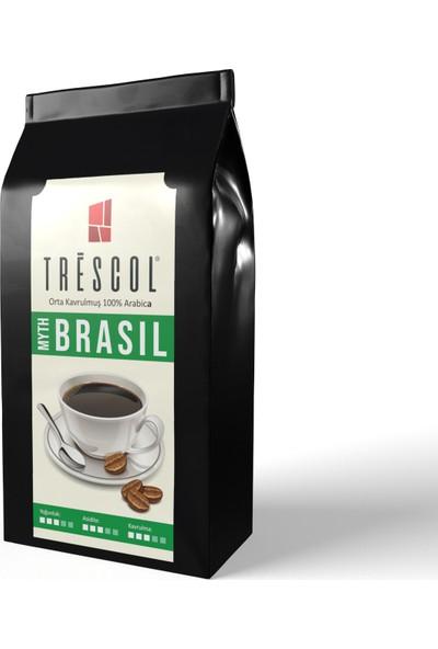 Trescol Brasil Espresso için Öğütülmüş Kahve 250 gr Çok ince Espresso