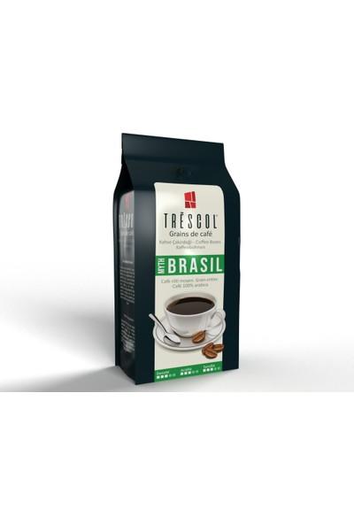 Trescol Brasil Kağıt Filtre için Öğütülmüş Kahve 250 gr Orta Kağıt Filtre