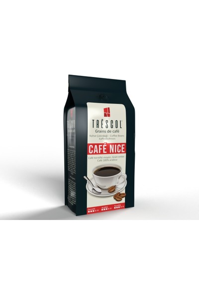 Trescol Cafe Nice Çekirdek Kahve 250 gr Öğütülmemiş Çekirdek Öğütülmemiş