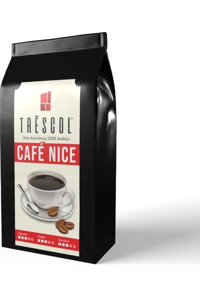 Trescol Cafe Nice Kağıt Filtre için Öğütülmüş Kahve 250 gr Orta Kağıt Filtre