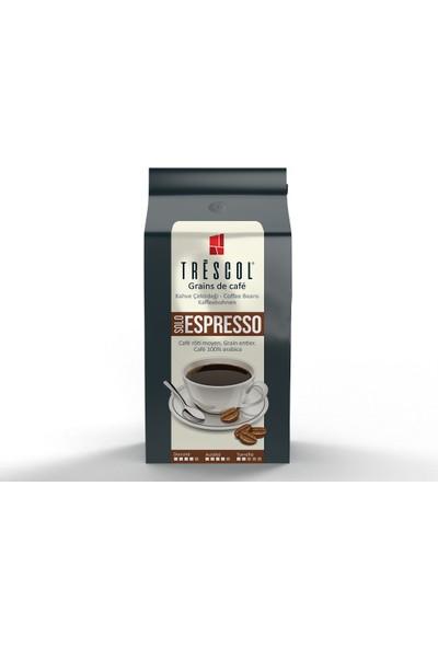 Trescol Espresso Çekirdek Kahve 250 gr Öğütülmemiş Çekirdek Öğütülmemiş