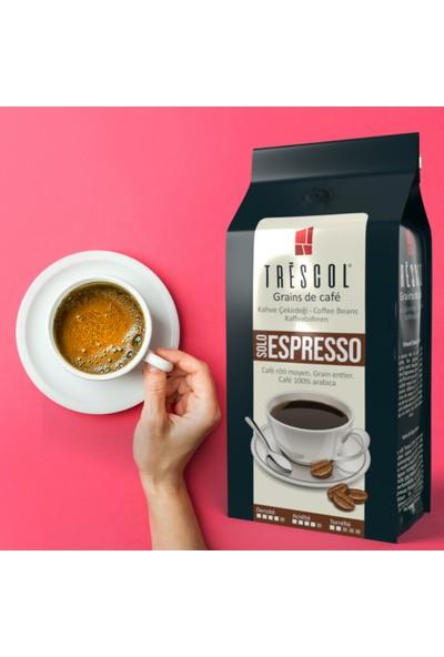 Trescol Espresso Espresso için Öğütülmüş Kahve 250 gr Çok ince Espresso