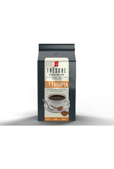 Trescol Ethiopia Espresso için Öğütülmüş Kahve 250 gr Çok ince Espresso