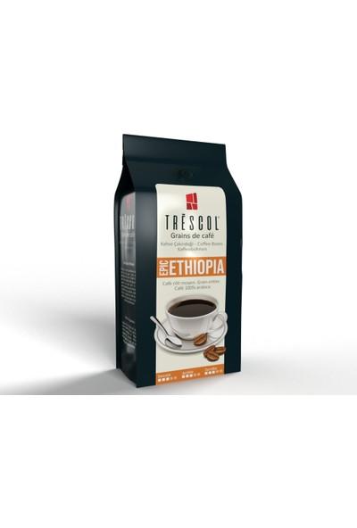 Trescol Ethiopia Kağıt Filtre için Öğütülmüş Kahve 250 gr Orta Kağıt Filtre