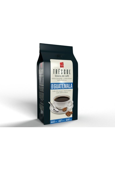 Trescol Guatemala Chemex için Öğütülmüş Kahve 250 gr İri Chemex
