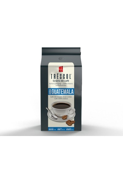 Trescol Guatemala French Press için Öğütülmüş Kahve 250 gr İri French Press