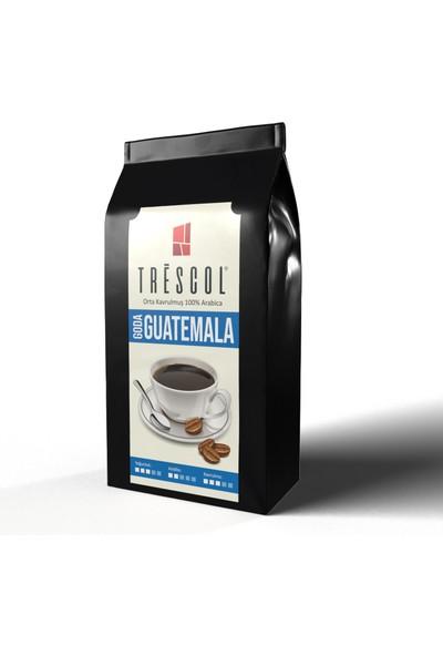 Trescol Guatemala Kağıt Filtre için Öğütülmüş Kahve 250 gr Orta Kağıt Filtre