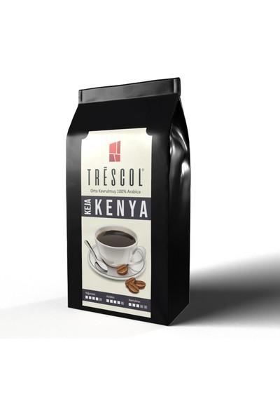 Trescol Kenya Metal Filtre için Öğütülmüş Kahve 250 gr Orta Metal Filtre
