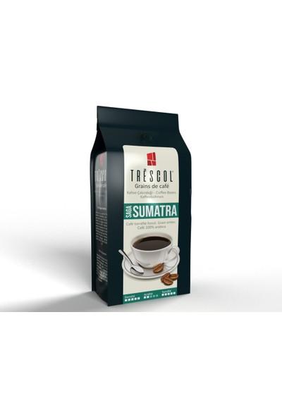 Trescol Sumatra Espresso için Öğütülmüş Kahve 250 gr Çok ince Espresso
