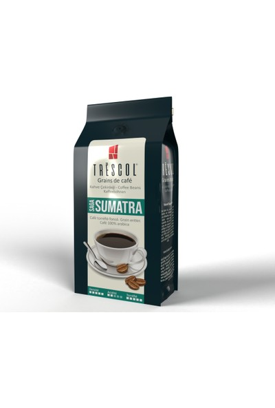 Trescol Sumatra French Press için Öğütülmüş Kahve 250 gr İri French Press