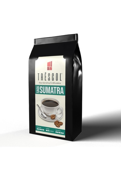 Trescol Sumatra French Press için Öğütülmüş Kahve 250 gr İri French Press
