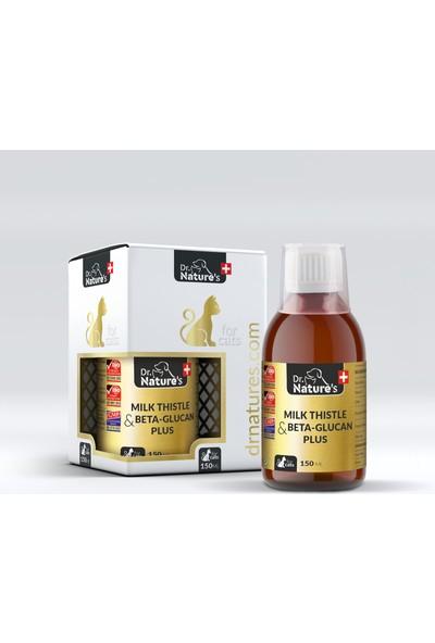 Dr. Natures Cat Milk Thistle Plus Kedilerde Karaciğer Destekleyici Besin Takviyesi 150 ml
