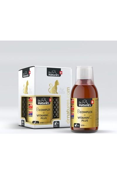 Dr. Natures Cat B Comlex +Vit C Kedilerde B Komplex Vitamin 150 ml