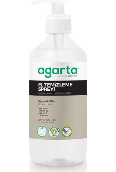 Agarta Doğal El Temizleme Dezenfektanı Spreyi 400 ml