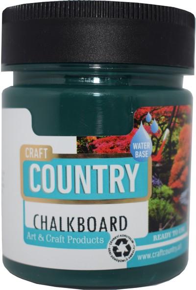 Craft Country Chalkboard Hobi Boyası 120 cc 8101 Yeşil