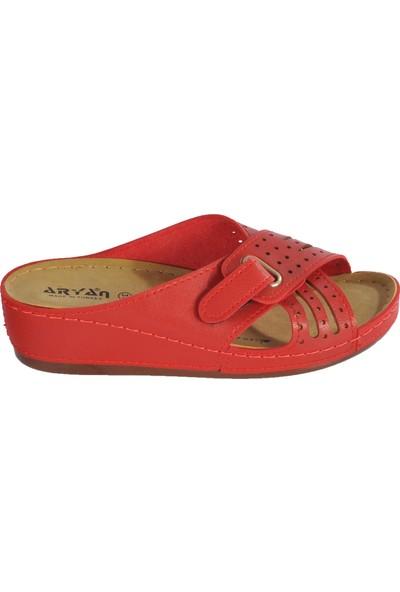 Aryan 09-272 Kırmızı Kadın Terlik