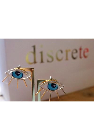 Discrete Göz Küpe