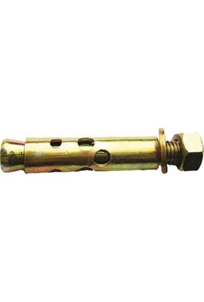 Mbh M 10 x 85 mm Gömlekli Çelik Dübel 100'lü