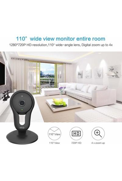 Unionjo Wi-Fi iç Mekan Güvenlik Kamerası 2 Paket
