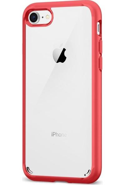 Spigen Apple iPhone SE (2020) / iPhone 8 / iPhone 7 Kılıf Ultra Hybrid 2 Crimson Red - 042CS21724
