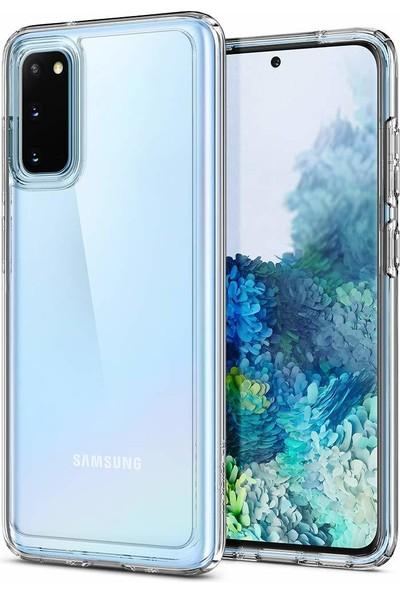 Spigen Samsung Galaxy S20 Kılıf Ultra Hybrid Black - ACS00793