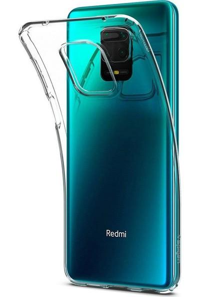 Spigen Xiaomi Redmi Note 9S / Note 9 Pro Max / Note 9 Pro Kılıf Liquid Crystal 4 Tarafı Tam Koruma Crystal Clear - ACS01190