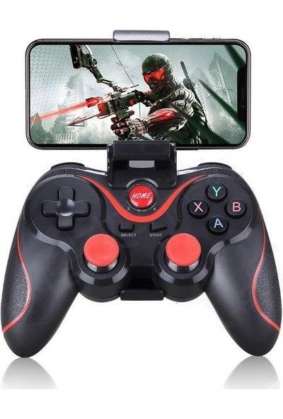 Schulzz T3 Wireless Kablosuz Oyun Kolu Bluetooth Joystick Gamepad