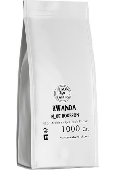 Yılman Kahvecisi Rwanda Blue Bourbon %100 Arabica Filtre Kahve Taze Kavrulmuş Çekirdek 1000 Gr.