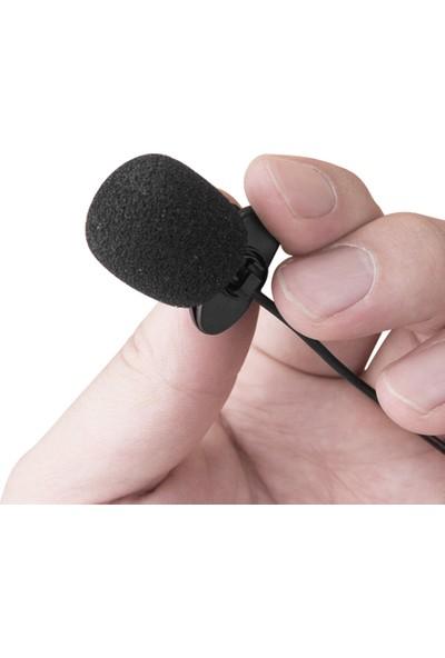 Buyfun Harici Clip-Yaka Mikrofon 3.5mm Jack Hassas (Yurt Dışından)