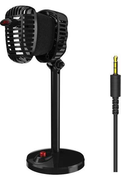 Jies Retro Kondenser Mikrofon Kablolu Pc Bilgisayar (Yurt Dışından)