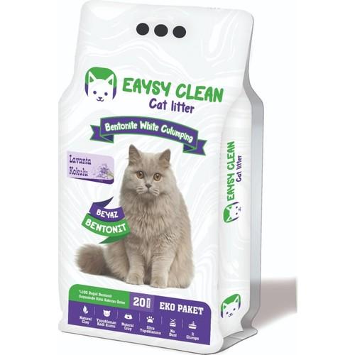 Eaysy Clean Mükemmel Lavanta Kokulu Kedi Kumu 20 lt