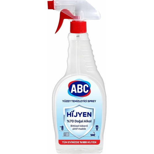ABC Hijyen Yüzey Temizleyici Sprey 750 ml