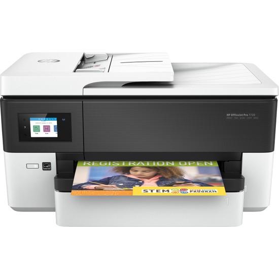 HP Officejet Pro 7720 Fotokopi + Faks + Tarayıcı + Wi-Fi + Airprint + A3 Yazıcı Y0S18A