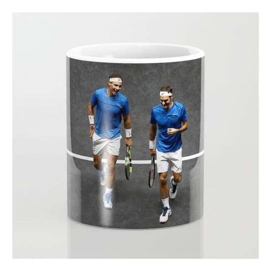 Bir Hediyen Olsun Tenis Nadal Federer Kupa