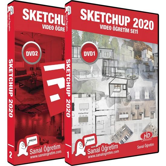Sanal Öğretim Sketchup 2020 Video Eğitim Seti