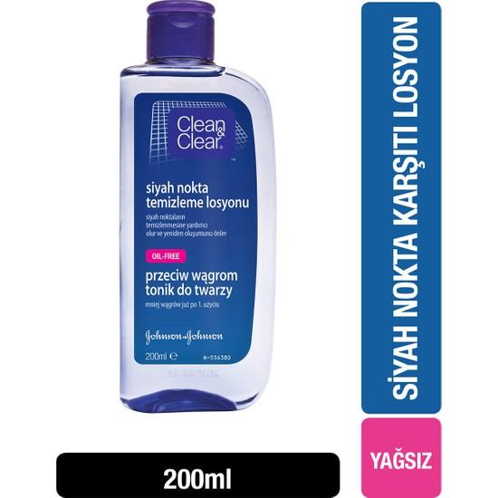 Clear&Clean Siyah Nokta Temizleme Losyonu 200 ml