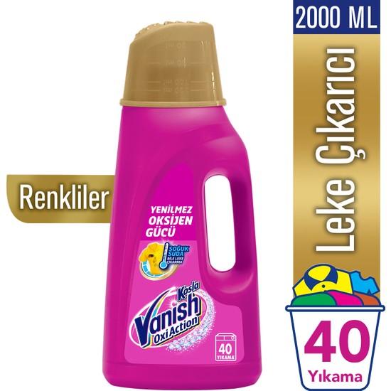 Vanish Kosla Leke Çıkarıcı Gold Sıvı Renkliler İçin 2000 ml